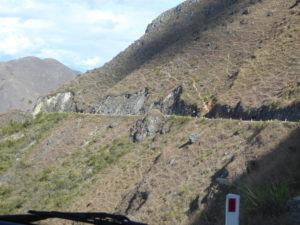 Aperçu sur la route de Cajamarca à Balsas