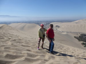 les dunes de Huacachina