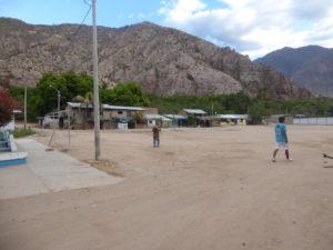 La place du village de Balsas