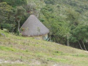 Kuelap : une maison reconstituée