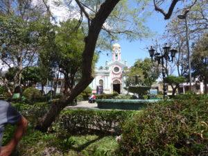 La place de Vilcabamba