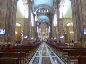 intérieur de la cathédrale nueva