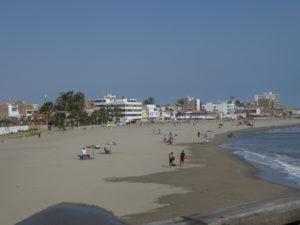 La plage de Pimentel