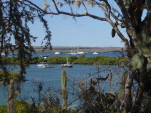 vue sur la baie de Santa Cruz