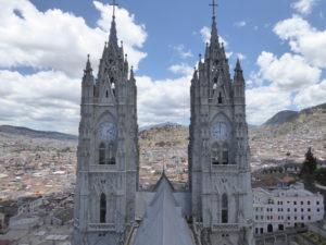 sur le toit de la Basilique