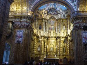 ntérieur de l'église Compana des jésuites
