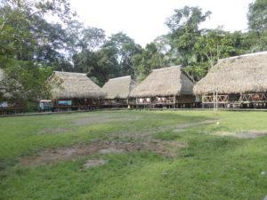 le lodge où nous séjournons 4 jours