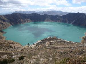 La lagune Quilotoa