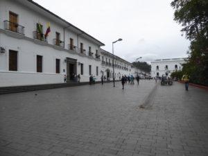 bâtiments autour du Parque Caldas