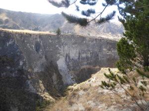 le canyon del Rio Toachi