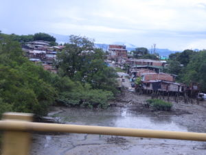 bidon ville à Buenaventura