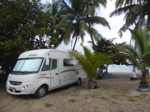 camping sur la plage de los Angeles
