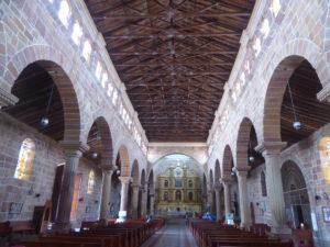 cathédrale de Barichara