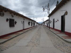 une rue du village de Playa de Belén