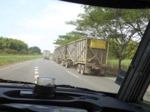 transport de canne à sucre : 4 longueurs.