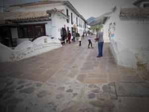 une rue de Villa de Leyva