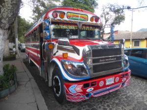 un bus du Guatémala