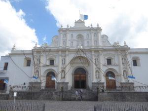 la cathédrale à Antigua