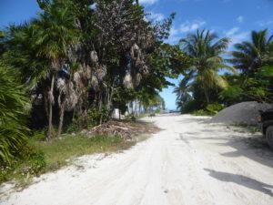 une rue de Punta Alen