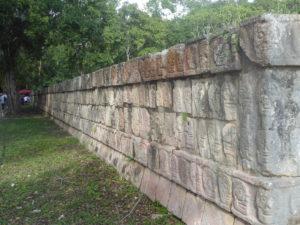 le mur des crânes