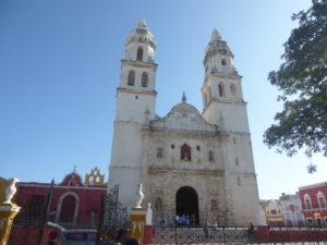 cathédrale de Campeche