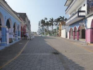 une rue de Tlacotalpan