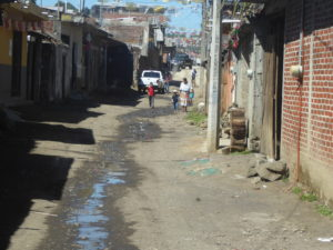 une rue de Anguahuán