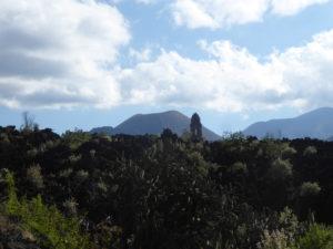 le volcan Paricutin et le clocher