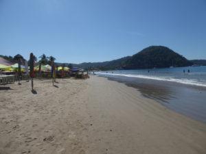 la plage La Manzanilla