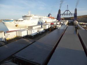 le ferry pour la Basse Californie